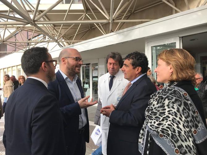 Lollo10 incontra il Ministro Fontana al Policlinico Gemelli