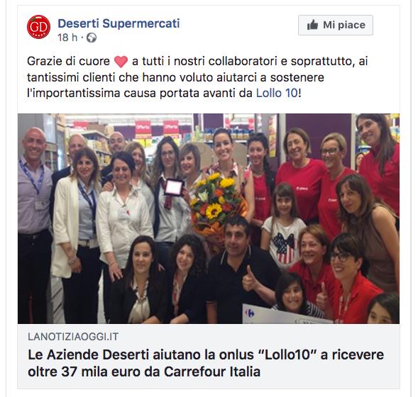 Carrefour e Lollo10