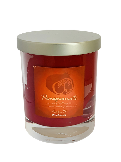 Glory of Zion Pomegranate Candle