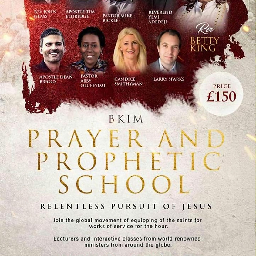BKIM Prayer and Prophetic School
