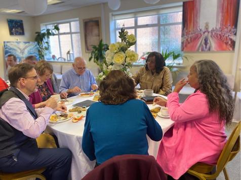 Leaders Breakfast 2020 - Revs table.JPG