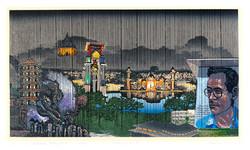 Falling Rain: Betong at Night