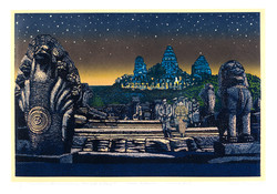 This Land is mine:  Night at Phimai