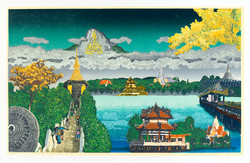 Dreaming: Temple, Flower, Mountain,