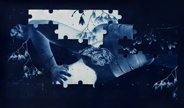 Sometimes I become a jigsaw puzzle