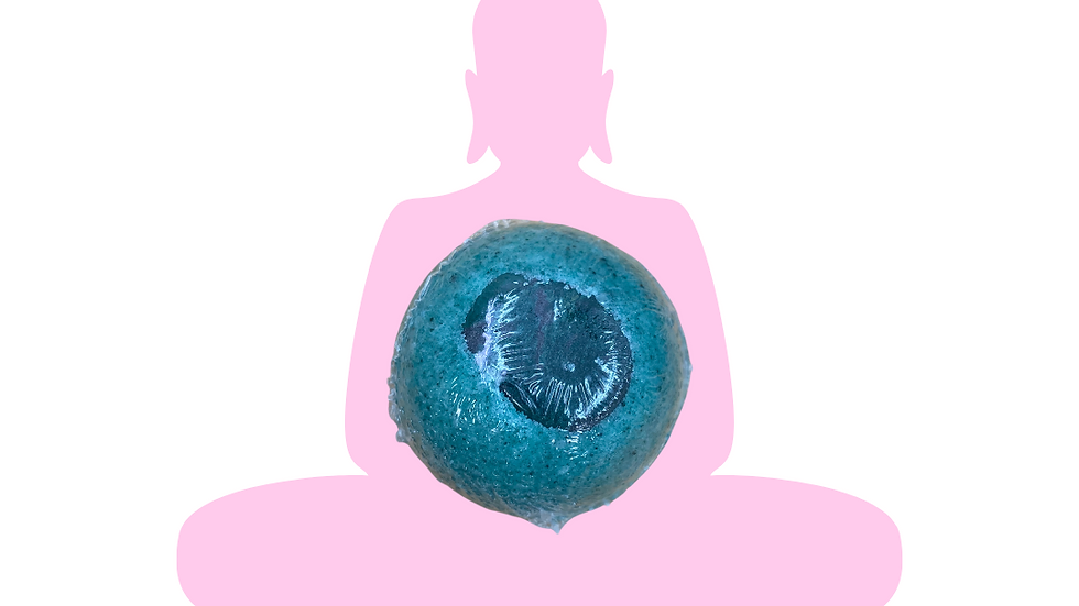 Buddha stone bath bomb