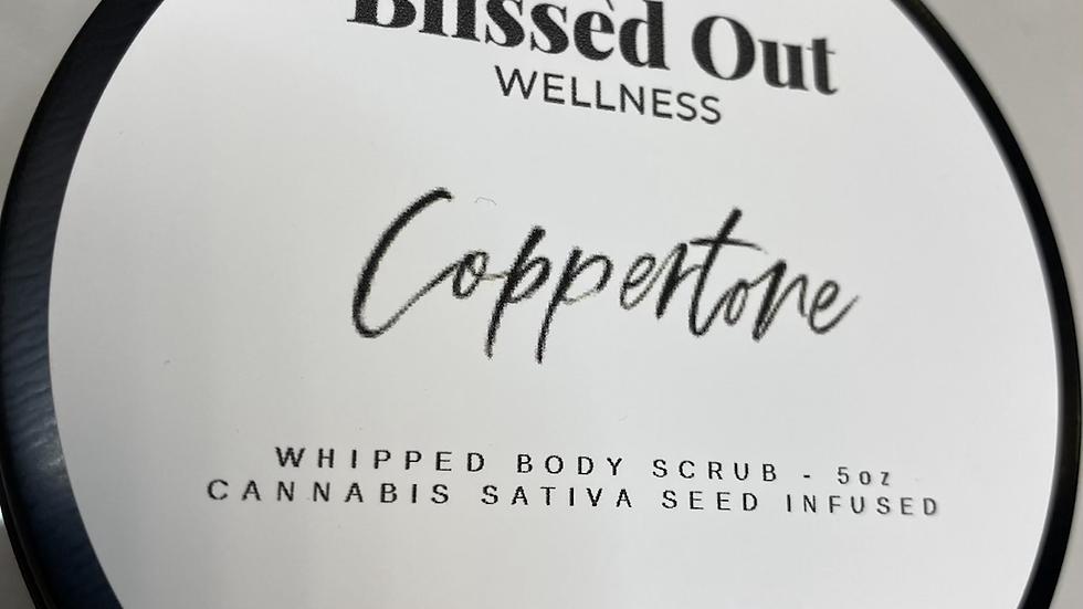 Coppertone whipped scrub