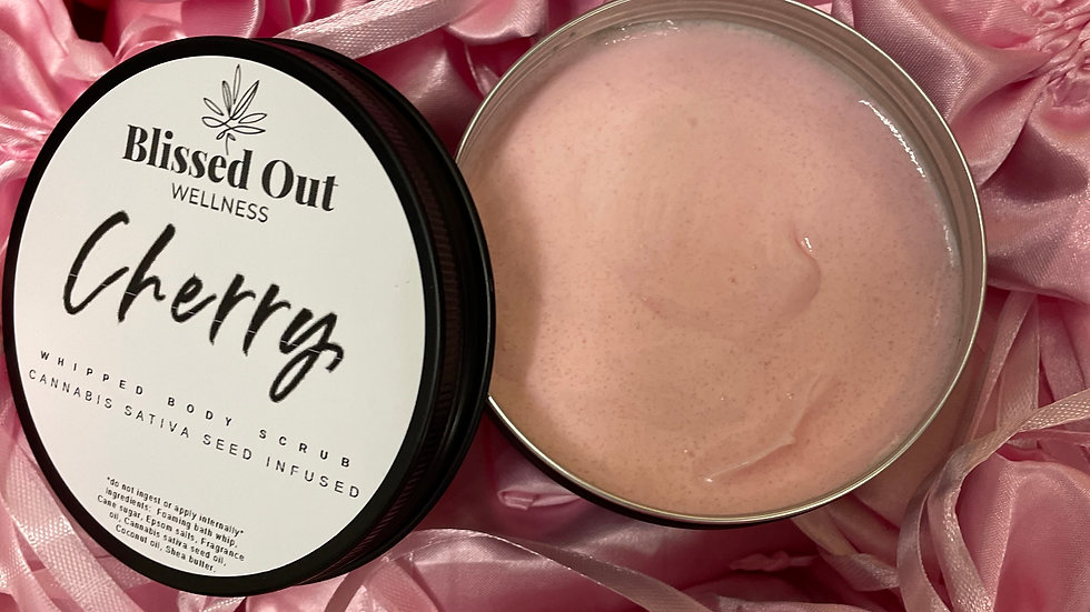 Cherry whipped scrub