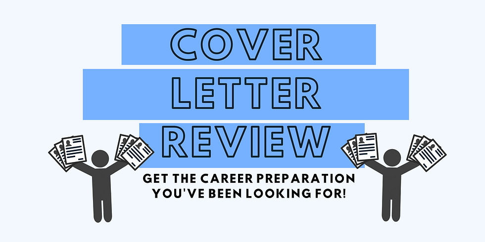 Cover Letter Review