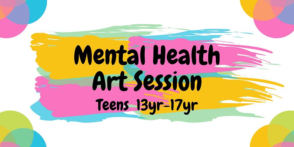 Mental Health Art Session (TEENS)