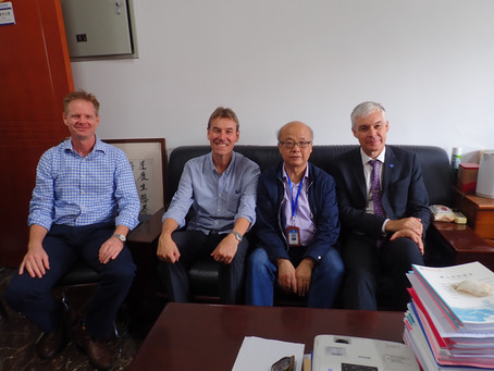 [May 2019] Visiting Institute of Oceanography in Qingdao