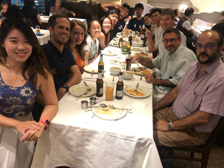 [Jul 2019] Farewell dinner for our summer interns