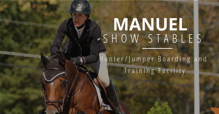 Manuel Show Stables Hunters Jumpers Equitation