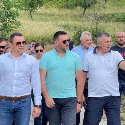 Ramić i Lučić u Matijevićima kod Kladnja: Podrška povratničkoj zajednici