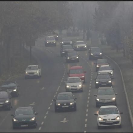 Prognozirana temperaturna inverzija i narednih dana donosi prekomjernu zagađenost zraka
