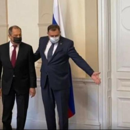 Dodik u Predsjedništvu BiH dočekao Lavrova