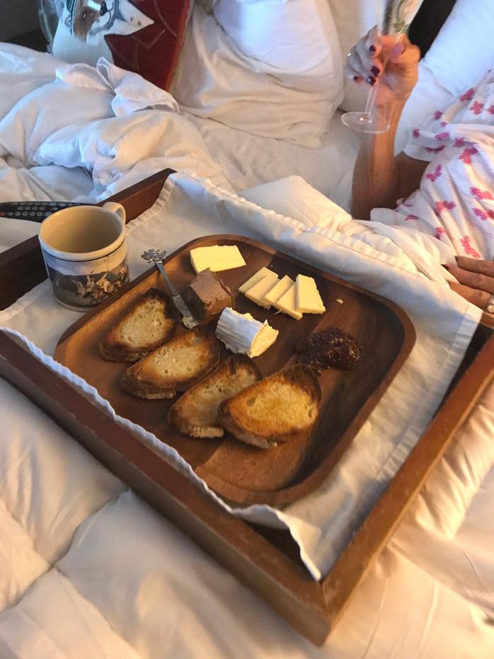 Breakfast In Bed PourDeax MELISSA HORNUNG