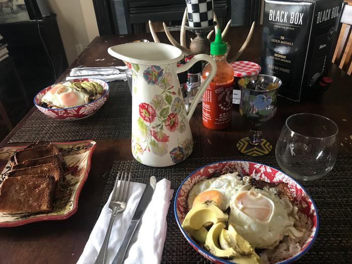 Eggs Anytime! Huevos Conquistador!MELISSA HORNUNG