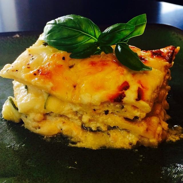 Vegetable Lasagna Blanco