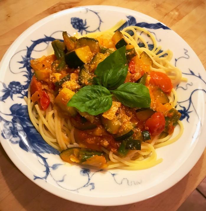 Gluten Free Pasta Garden Primavera