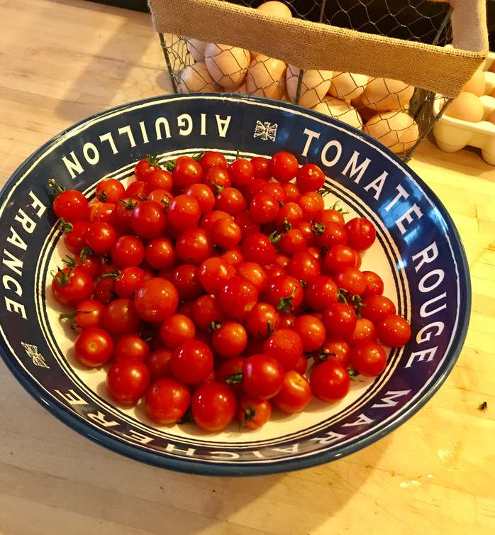 Sometimes life is a bowl of cherry tomatoes!