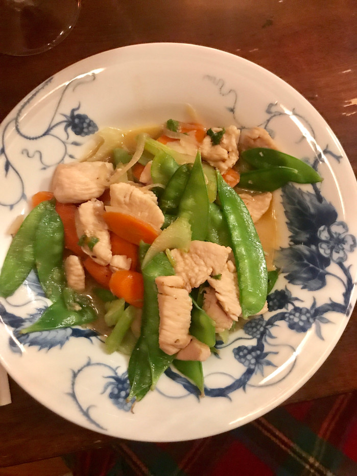 Classic Chicken and Vegetable Stir Fry MELISSA HORNUNG