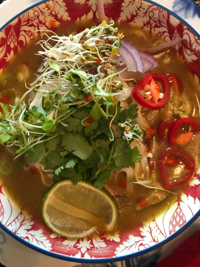 Spicy 🌶Thai Curry Noodle Soup MELISSA HORNUNG