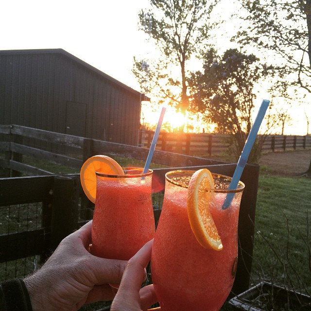 Sunset Margarita's