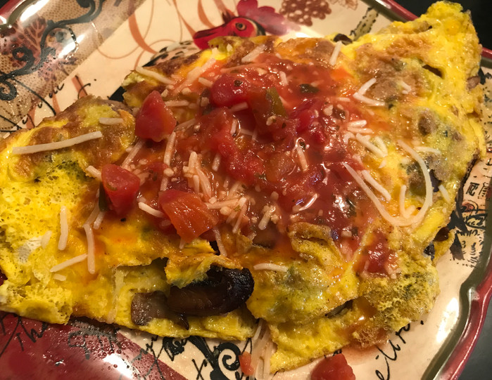 The Incredible Eatible Egg 🥚Does it Again! The Wild Mushroom Omelette with Garden Tomato Salsa 💃🏼