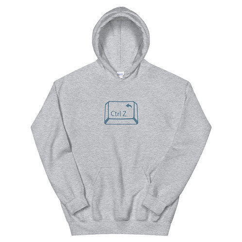 Ctrl Z - The Undo for Real Life - Hoodie