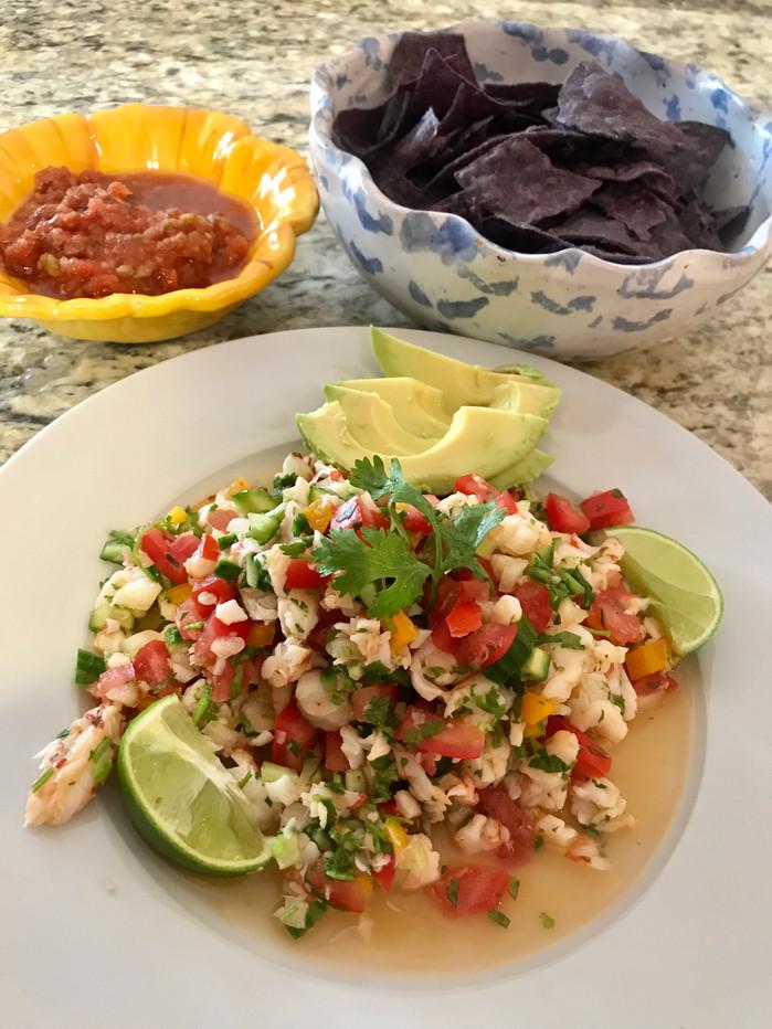 Classic Ceviche with Shrimp 🍤MELISSA HORNUNG