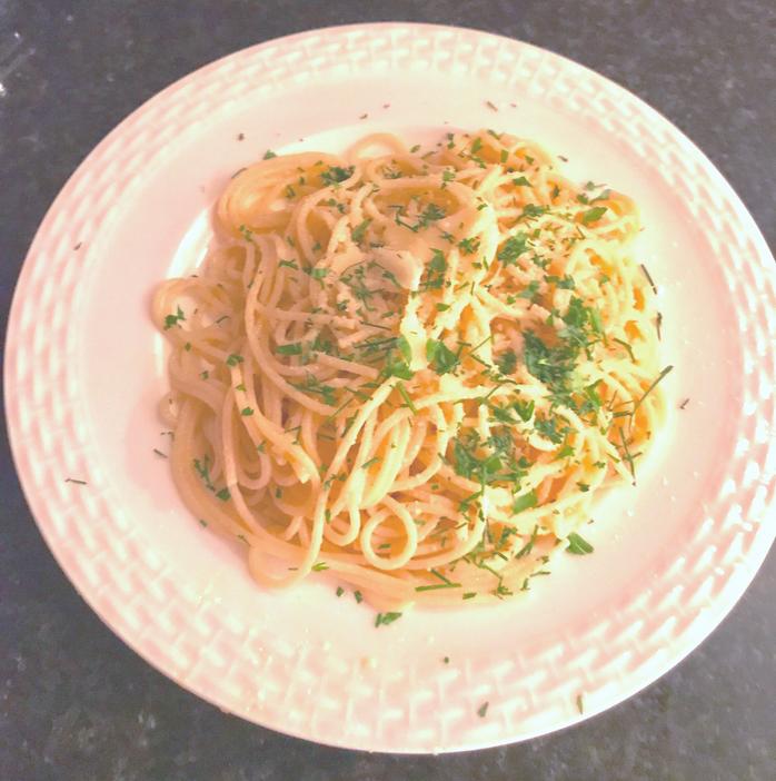 Gluten Free Pasta Aglio E Olio (garlic and Oil)