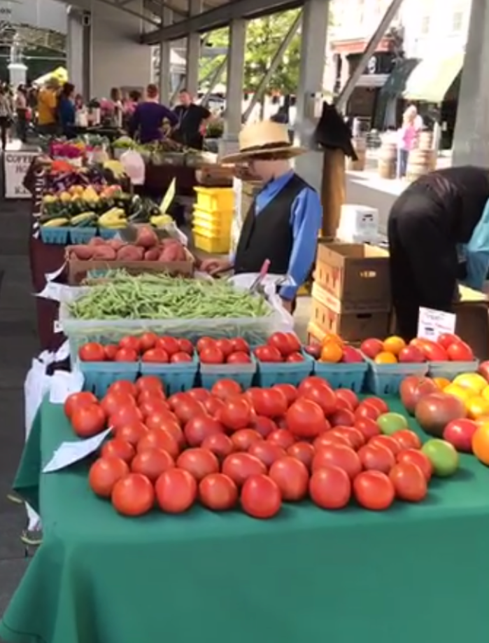 Have You Been to Your LocalFarmers MarketLately?            MELISSA HORNUNG
