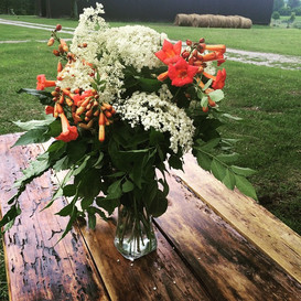 Wild pasture flowers make the best arrangements
