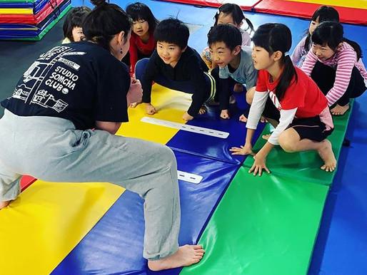【Variousスポーツスクール】今年1発目は新春大相撲大会! 体操教室 運動 子供 千葉市中央区 蘇我