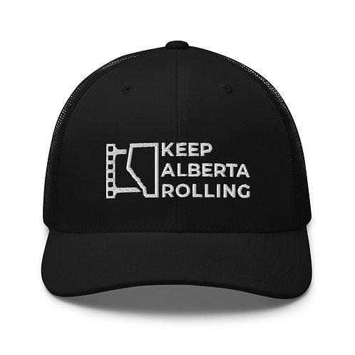 Trucker Cap w/ Text Logo