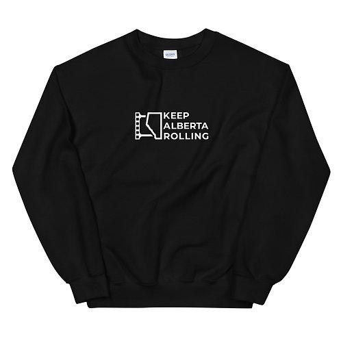 Unisex Sweatshirt w/ Text Logo
