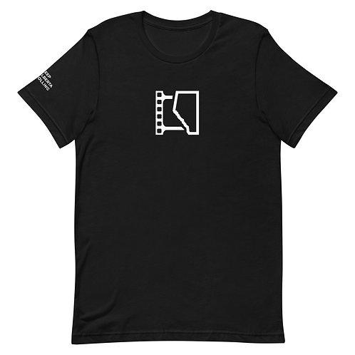 Short-Sleeve Unisex T-Shirt w/Sleeve Logo