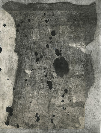Rag series, etching and chinecolle 30 x 40 cms