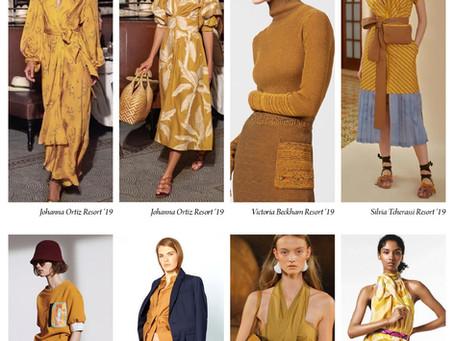 Colour trend - Mustard