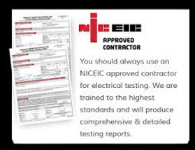 NICEIC Approved Contractor Southport and North West