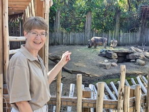 For Cathy, volunteering is 2nd nature