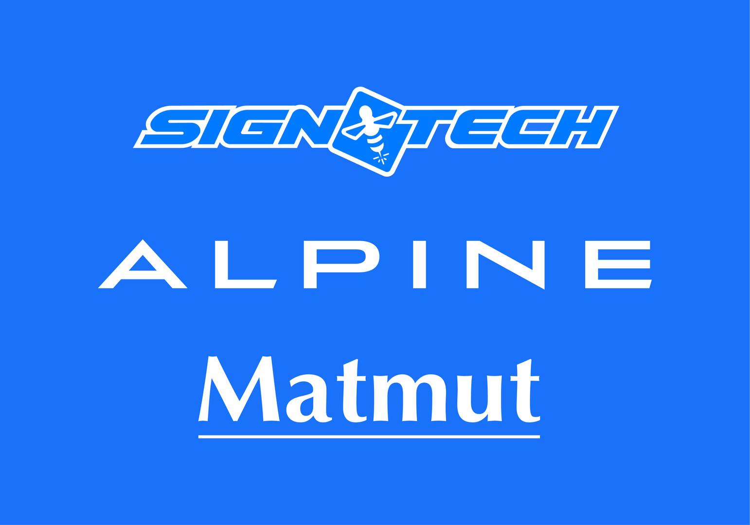 ALPINE SIGNATECH MATMUT