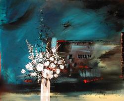 Bouquet de Printemps  81 x 100  cm
