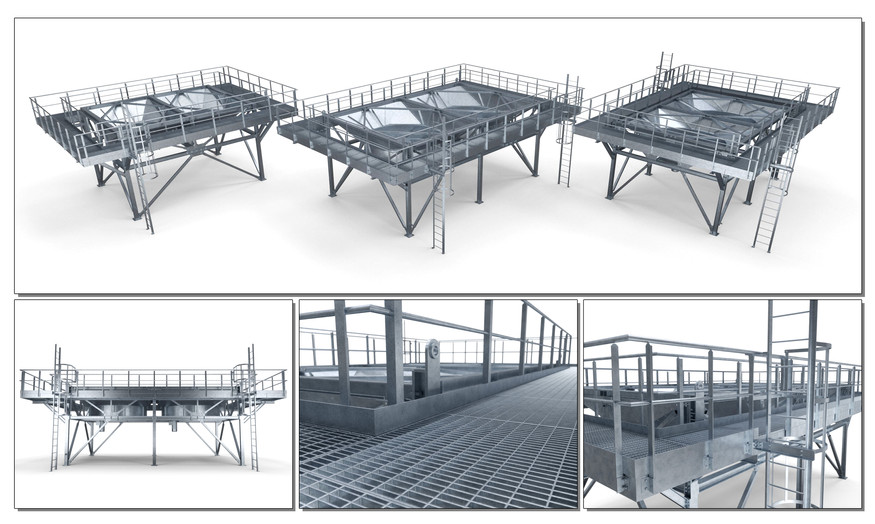 Off Shore Steel structure - Oil & Gas