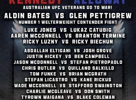 Strike MMA Fighters Tyrown Wiagana & Lorenz Araneda set to fight on Eternal mma May 11TH