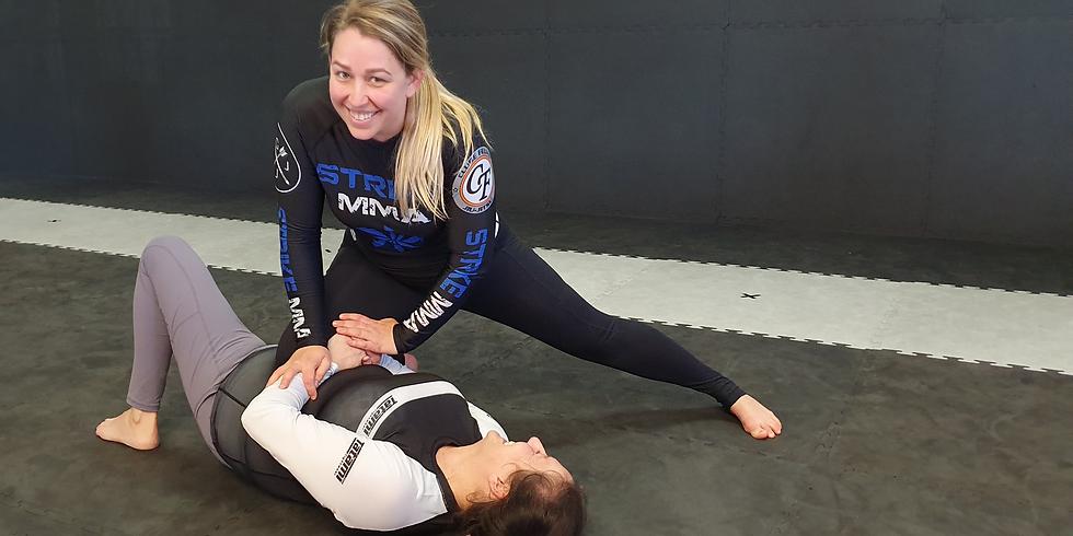 Womens Beginner Brazilian Jiu Jitsu Program