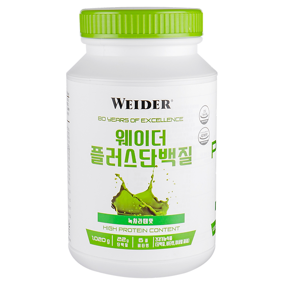 WEIDER PLUS PROTEIN GREEN TEA LATTE