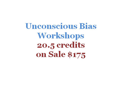 20.5 SHRM/HRCI Unconscious Bias Credits