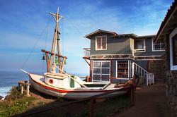 Neruda y su hogar. Isla Negra